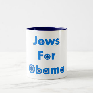 Jews For Obama Mugs