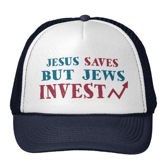 Jews Invest - Jewish finance humour Cap