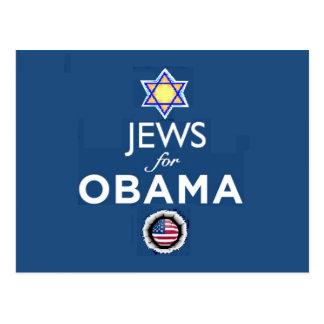 JEWS OBAMA Postcard