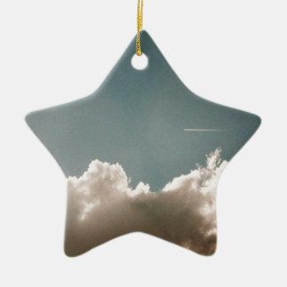 Jey Sky Blue Christmas Ornament