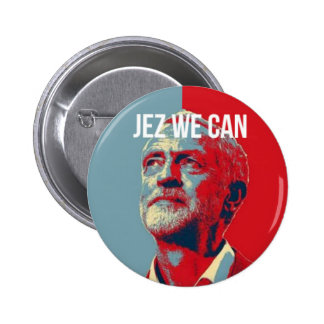 #JezWeCan - Jeremy Corbyn 4 PM badge