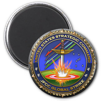 JFCC for Global Strike and Integration 6 Cm Round Magnet