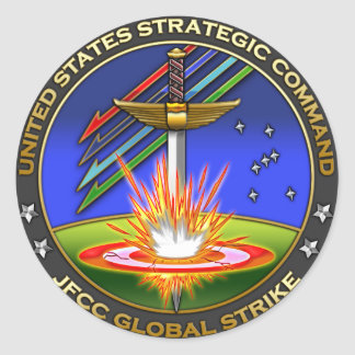 JFCC for Global Strike and Integration Round Sticker