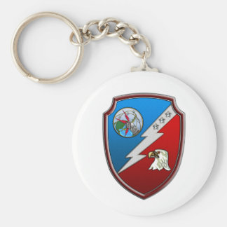 JFCC for Integrated Missile Defense Basic Round Button Key Ring