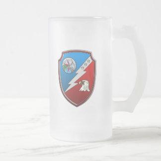JFCC for Integrated Missile Defense Frosted Glass Beer Mug