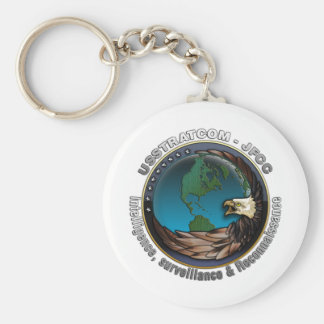 JFCC for Intelligence, Surveillance and Reconnaiss Basic Round Button Key Ring