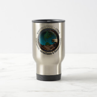 JFCC for Intelligence, Surveillance and Reconnaiss Stainless Steel Travel Mug
