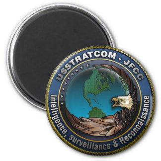 JFCC Intelligence, Surveillance & Reconnaissance 6 Cm Round Magnet