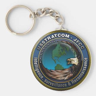 JFCC Intelligence, Surveillance & Reconnaissance Basic Round Button Key Ring