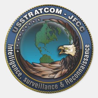 JFCC Intelligence, Surveillance & Reconnaissance Round Sticker