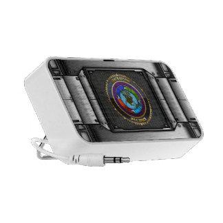 JFCC Space Emblem Mini Speakers
