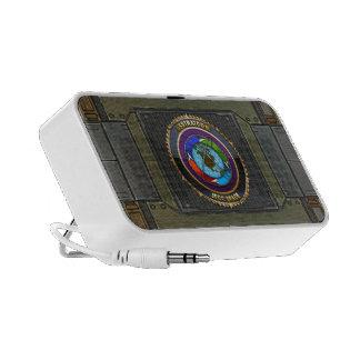 JFCC Space Emblem Travel Speaker