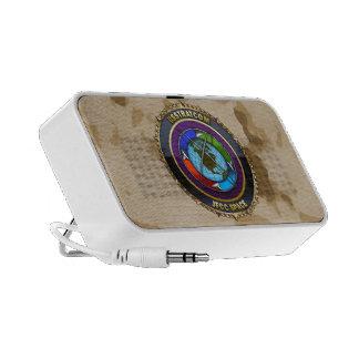 JFCC Space Emblem Travel Speakers