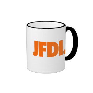 JFDI Mug 11 oz