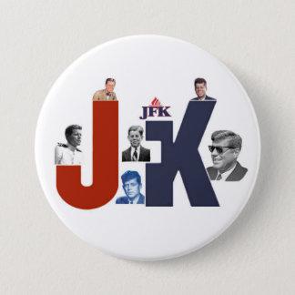 JFK 100 Years 7.5 Cm Round Badge