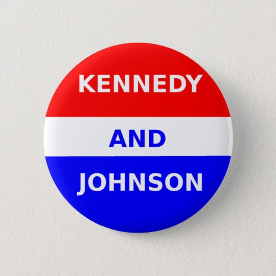 JFK 1960 Campaign Button