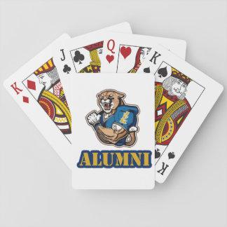 JFK Cougar Football Playing Cards