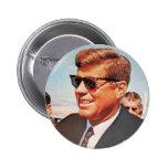 JFK in Living Colour 6 Cm Round Badge
