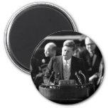 JFK Inauguaration Magnet