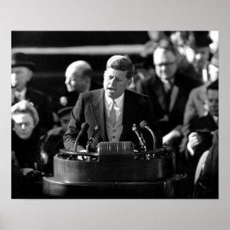 JFK Inauguaration Posters