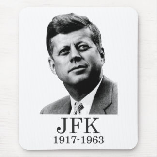 JFK - John F. Kennedy Mouse Pad