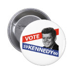 JFK Kennedy Election Pinback Buttons