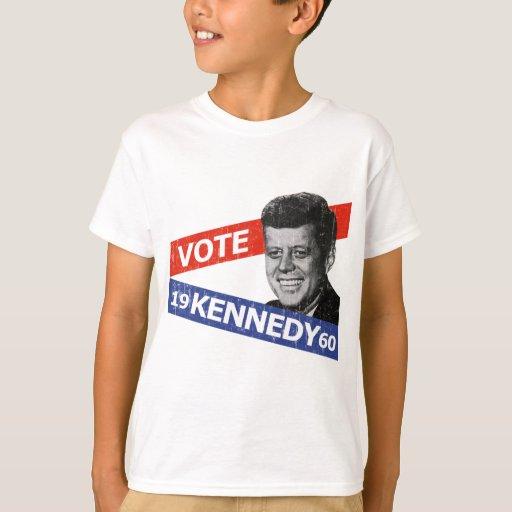 JFK Kennedy Election Tshirt