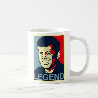 jfk legend coffee mug