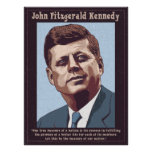 JFK - Measure Poster