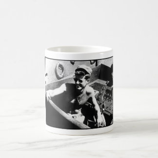 JFK on PT-109 Basic White Mug