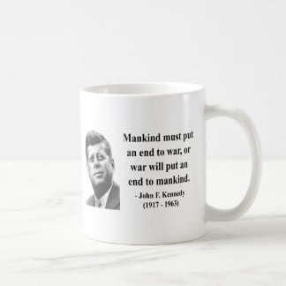JFK Quote 1b Basic White Mug