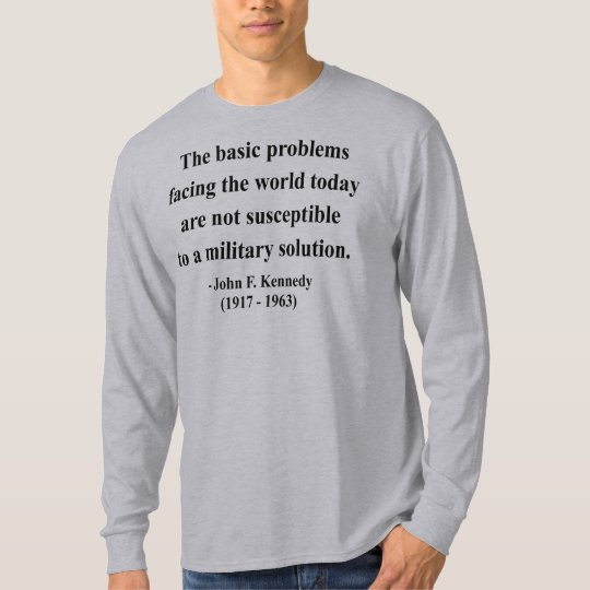 JFK Quote 6a T-Shirt