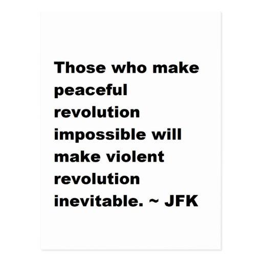 JFK Quote Postcards