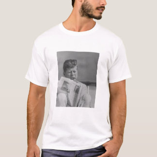 JFK Relaxing Outside T-Shirt