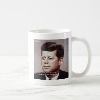 JFK Repair The Roof Famous Quote Mug