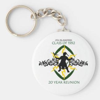 JFK Reunion 1992 Key Chain