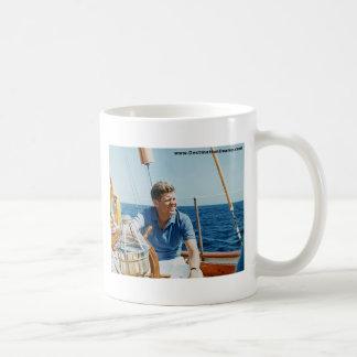 JFK Sailing Basic White Mug