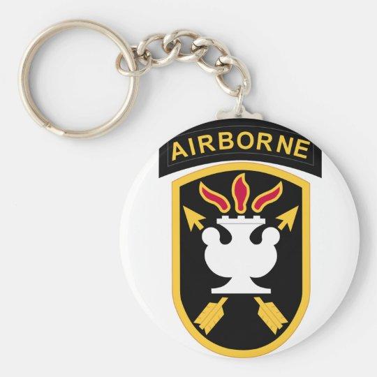 JFK Special Warfare Centre Basic Round Button Key Ring