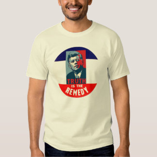 JFK: Truth is the Remedy Shirts