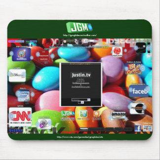 JGMGlobe - Mouse Pad