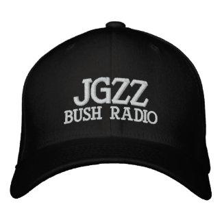 JGZZ BUSH RADIO EMBROIDERED HATS