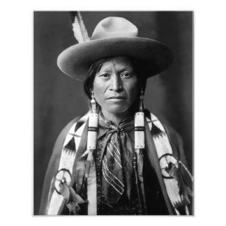 Jicarilla Apache Cowboy, 1905 Photograph