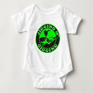 JIGGING & GIGGING BABY BODYSUIT