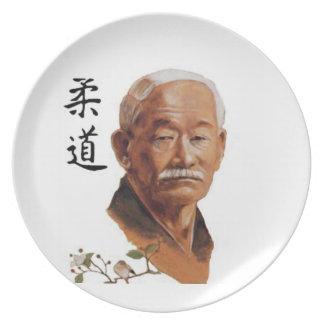 jigoro kano Judo Party Plate