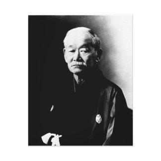Jigoro Kano Wrapped Canvas