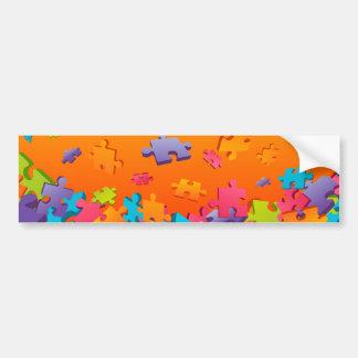 Jigsaw Bumper Sticker