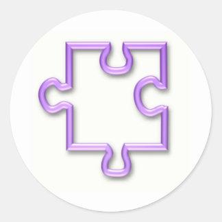 Jigsaw Cutout Sticker