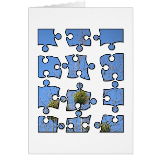 jigsaw puzzle 4x3 card