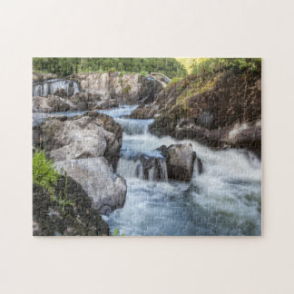 Jigsaw puzzle Cenarth Falls, Ceredigion west Wales