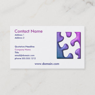 Jigsaw business cards zazzle uk jigsaw puzzle cutout business card colourmoves